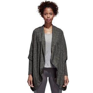 Adidas Twist-N-Turn gray women's wrap